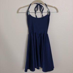 American Apparel Halter Skater Dress